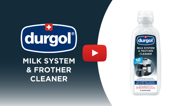 How to Clean Your coffee Machine's Milk Frothing System (Yucky if You Don't!) – Durgol & Frieling