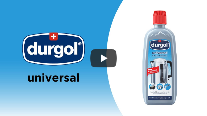 Lime Buildup in Your House? Swiss made Universal to the Rescue – Durgol & Frieling